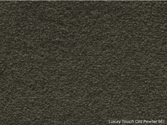 Tuftmaster Luxury Touch Old Pewter Carpet
