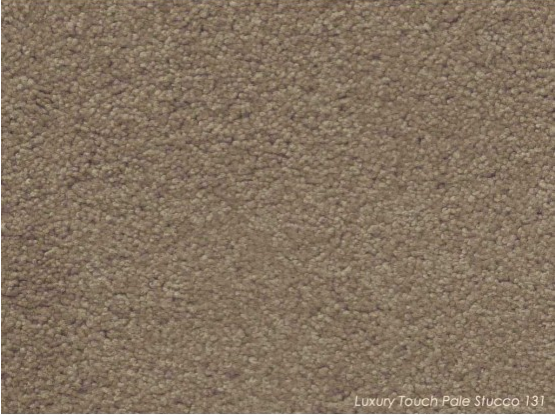 Tuftmaster Luxury Touch Pale Stucco Carpet