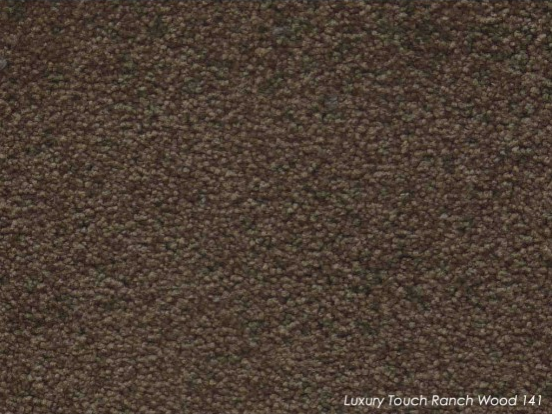 Tuftmaster Luxury Touch Ranch Wood Carpet