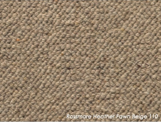 Tuftmaster Rossmore Heather Fawn Beige Carpet