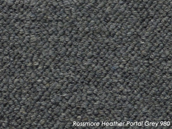 Tuftmaster Rossmore Heather Portal Grey Carpet