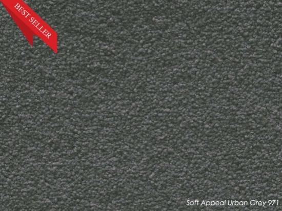 Tuftmaster Soft Appeal Urban Grey Carpet