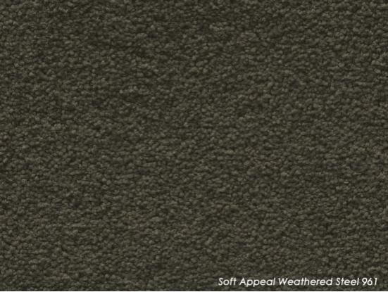 Tuftmaster Soft Appeal Weathered Steel Carpet