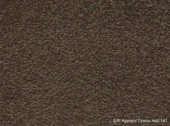 Tuftmaster soft Appeal Tawny Mist Carpet