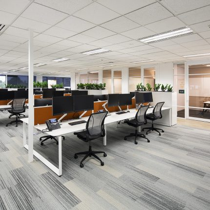 Office Fitout Interface Silver Linings Collection Carpet Tile